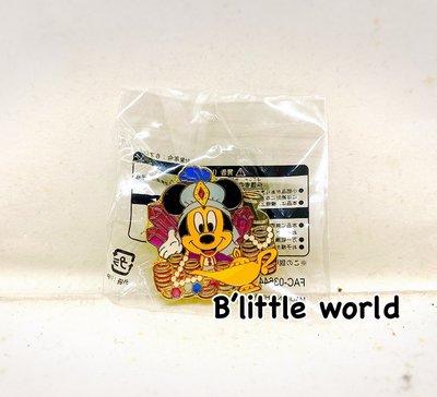 *B'Little World * [現貨] 東京迪士尼海洋限定商品/米奇金屬小胸章/東京連線