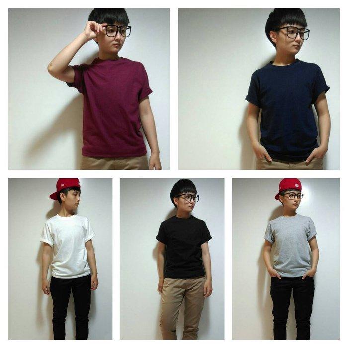 〝MU〞SHOP 小版男裝《帥氣純棉T恤》多色素面純棉T恤、超值優惠、帥氣百搭T恤-9色