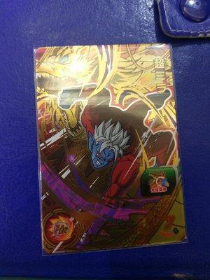 台版 全新正品 七龍珠英雄卡 宣傳卡 CP卡 UMT1-CP8 超米拉。台灣機台投下。十分好用的卡片。