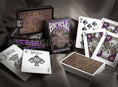 [808 MAGIC]魔術道具 BICYCLE 808 NIGHTSHADE DECK 噩夢撲克牌