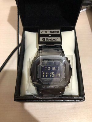 全新 日版 Casio G-Shock GMW-B5000GD-1JF Bluetooth 5600 Series 黑色