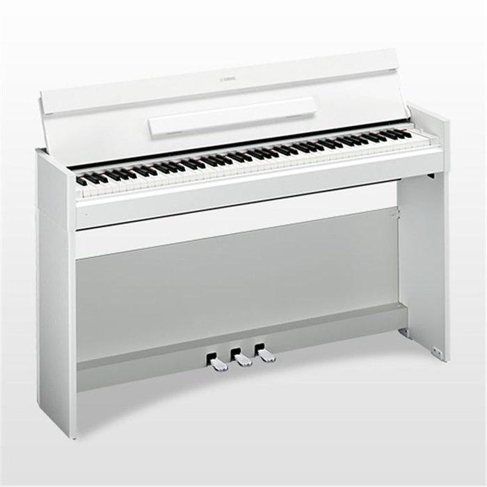 造韻樂器音響-JU-MUSIC- 全新 YAMAHA YDP-S52 電鋼琴 YDPS52 專業教學 時尚白