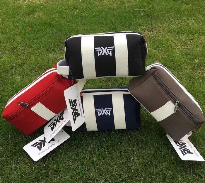 2018新款高爾夫PXG手包 男女款多功能手提包 時尚收納小包小球袋