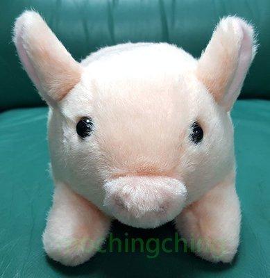(9 成新陳列品) 趣致 粉紅豬 毛公仔 玩具 (Pink Pig Doll Toy)