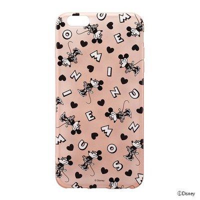 尼德斯Nydus~* 日本迪士尼 米妮 Minnie 半透明 TPU軟殼 手機殼 5.5吋 iPhone6+ Plus