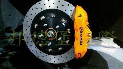 邦德堡國際 福斯VW GOLF APSSAT TIGUAN TOURAN 前大六活塞煞車 雙片式浮動碟 可另購後輪加大碟