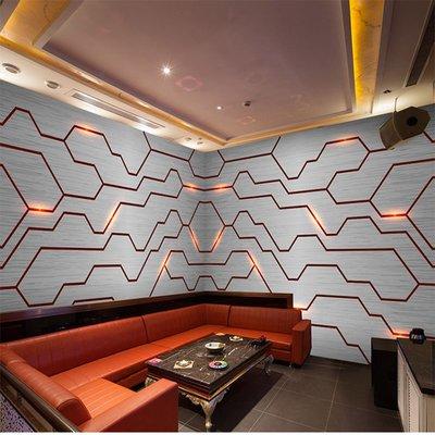 佩奇壁纸3d立體科技感發光線條主題電競酒店網吧KTV背景墻布裝飾墻紙壁紙小猪佩奇