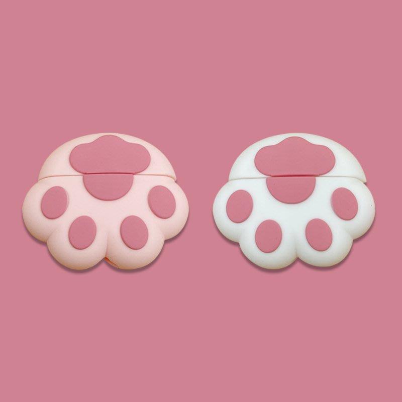 【雅靜舍】可愛貓爪AirPods Pro保護套蘋果3代無線藍牙耳機硅膠套創意女