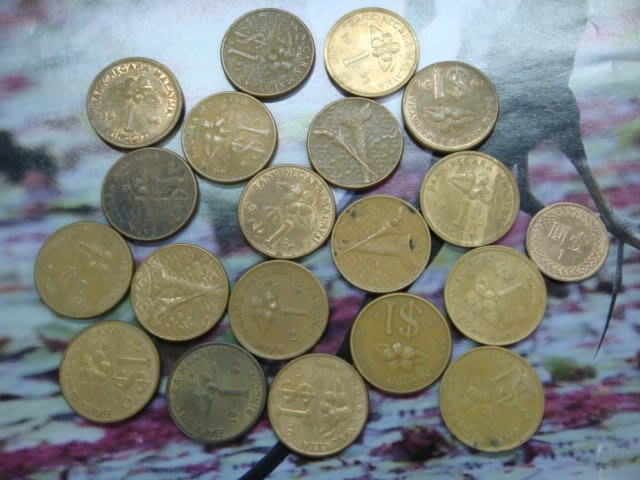 ☆金鈴館☆馬來西亞錢幣19枚~ZX-1