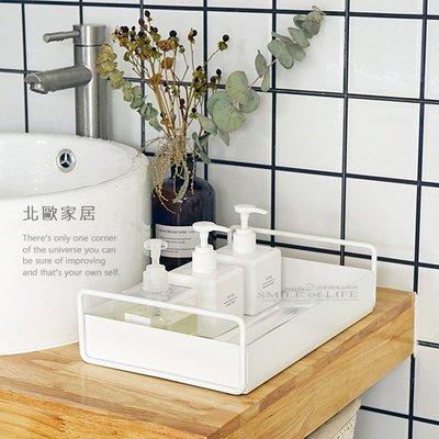 北歐家居 桌面置物盒【四色】洗手間 客廳 浴室 梳妝台 收納盤 托盤 居家收納 置物盤 ☆SMILE創意家居軟裝市集