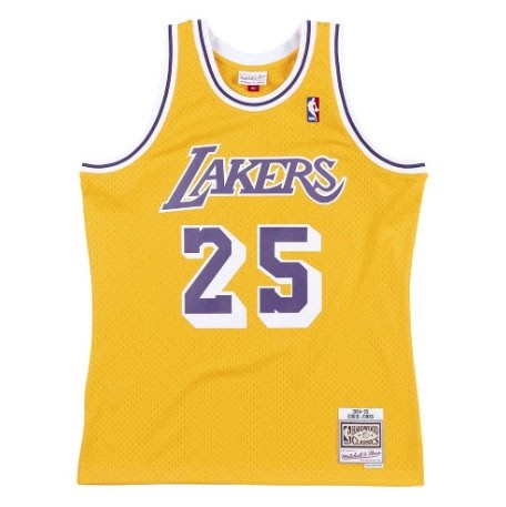 沃皮斯§Mitchell & Ness NBA 湖人 #25Jones SMJYGS18441-LALLTGD94EJN