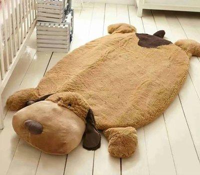 0064 加厚卡通可愛動物造型地墊寶寶蓋毯 午睡墊 客廳卧室飄窗榻榻米地墊