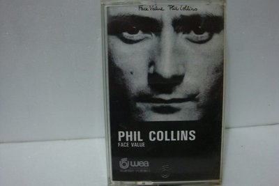 【銅板交易】二手原版錄音帶♥Phil Collins 菲爾柯林斯 /FACE  VALUE