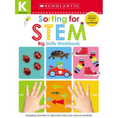 學樂啟蒙練習:幼兒技能-分類 英文 Kindergarten Big Skills Workbook: Sorting