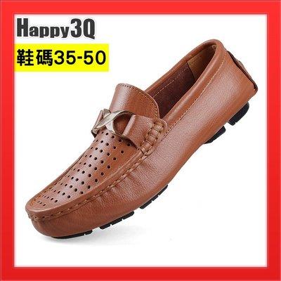 洞洞鞋US13碼平底鞋子48寬口鞋加大碼休閒豆豆鞋-黑/綠/棕35-50【AAA4573】