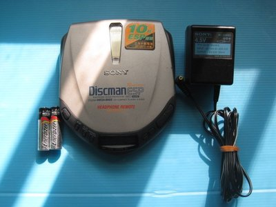 SONY Discman ESP D-E305.附電源 超優音質 發燒之友請不要錯過……