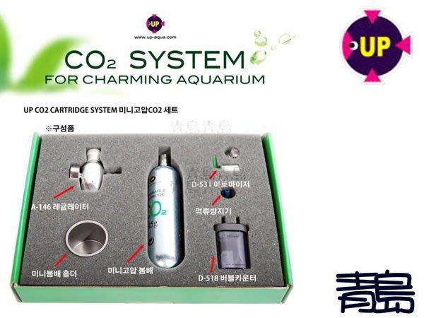 AA。。。青島水族。。。A-149 台灣UP雅柏------刺針式CO2系統組==拋棄式