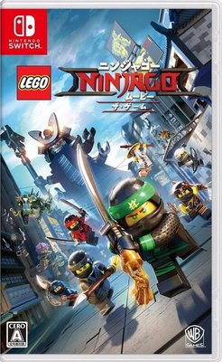 Lego Ninjago Movie Videogame 樂高旋風忍者大電影 for Nintendo Switch NSW-0151