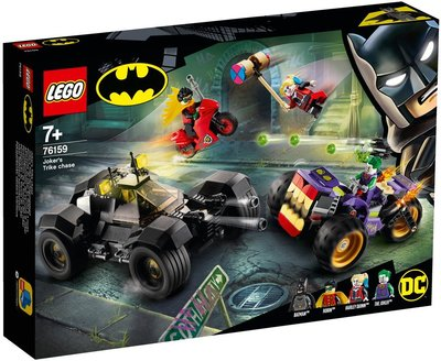 樂高 LEGO 76159 超級英雄 Jokers Trike Chase