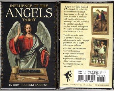 [牌的世界]天使的影響塔羅牌Influence Of The Angels Tarot (80張)燙金硬殼版
