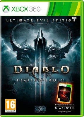 全新未拆 XBOX 360 暗黑破壞神3:奪魂之鏈 終極邪惡版(含3代本體) -英文版- Diablo 3