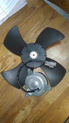 納智捷U7 U6 M7 S5 S3共用原廠品牌水箱風扇馬達/冷氣風扇馬達