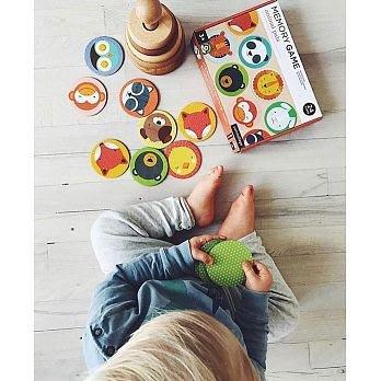 *Dou Dou House*美國Petitcollage 兒童記憶遊戲卡 桌遊-動物系列