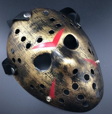 萬聖節面具/傑森面具/金屬感傑森面具/復古傑森面具