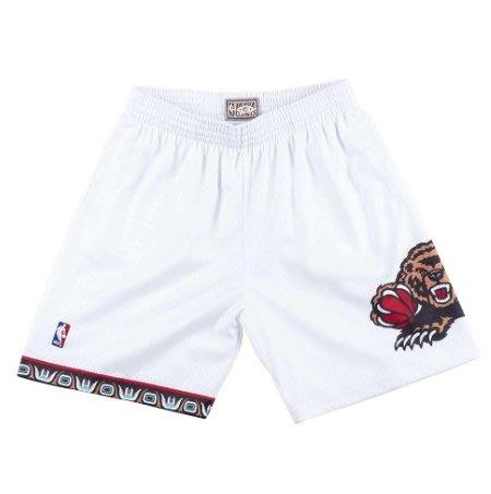 沃皮斯§Mitchell & Ness NBA 復古球褲 灰熊隊 98-99 SMSHCP18155-VGRWHIT98