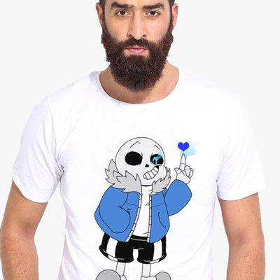 undertale sans papyrus傳說之下T-Shirt兒童T恤定制圓領8圓領短袖