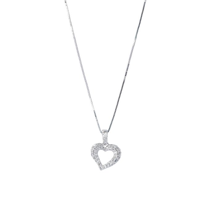 【JHT金宏總珠寶/GIA鑽石專賣】0.30ct天然鑽石項鍊/材質:750(JB52-A24)