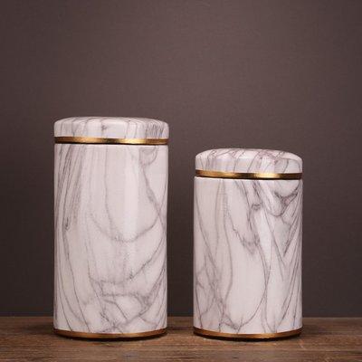 〖洋碼頭〗現代中式陶瓷儲物花瓶裝飾擺設 居家客廳臥室炫關裝飾擺件工藝品 ysh467