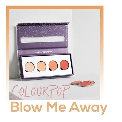 【現貨】Colourpop - Blow Me Away 四色眼影組合