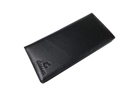 【菲歐娜】7865(特價拍品)CROSS OX (C圖騰)長皮夾(黑)