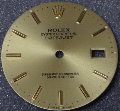 庫存新品!品相極美!勞力士 Rolex 原廠 16233面盤+原廠指針