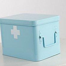 家用家庭用多層特大號小號便攜箱【大號 家庭型[藍色]】