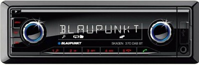 德國藍點機王 BLAUPUNKT 370BT 無碟機 藍芽免持聽筒及播放音樂/前後USB/AUX/前置SD等