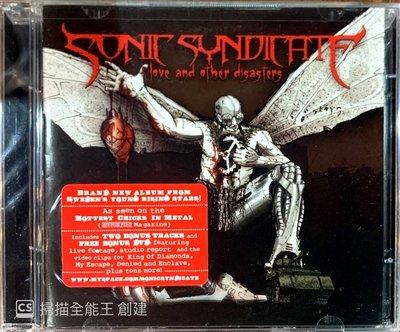 【搖滾帝國】瑞典旋律死亡Melodic Death金屬樂團SONIC SYNDICATE 2008年發行 全新進口專輯