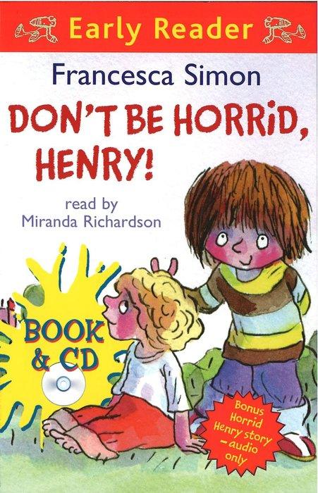 *小貝比的家*DON'T BE HORRID, HENRY!  /平裝+CD/7~12歲