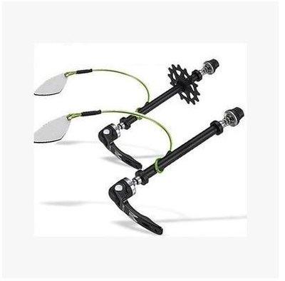 自行車配件 腳踏車配件 Birzman山地車公路自行車前后輪固定器虛擬飛輪防碟剎卡鉗鎖死 良品優舍