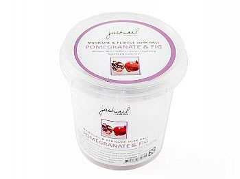Justnail石榴無花果潔膚球125 g Soak Ball-Pomegranate&Fig Y1PK53A