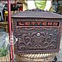 仿古鑄鋁花籃壁掛式信箱 紅古銅色歐式造型郵...
