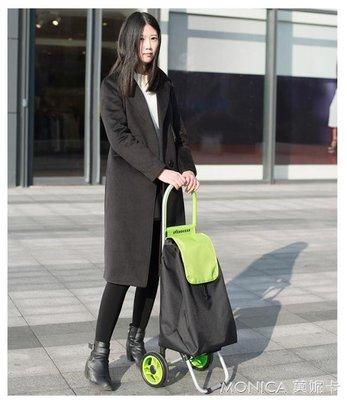 26E配色款歐弗遜購物車行李車手拉車可便攜買菜車摺疊