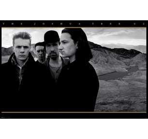 ##進口海報  B-08 全新 U2 - THE JOSHUA TREE 60 x 90 cm