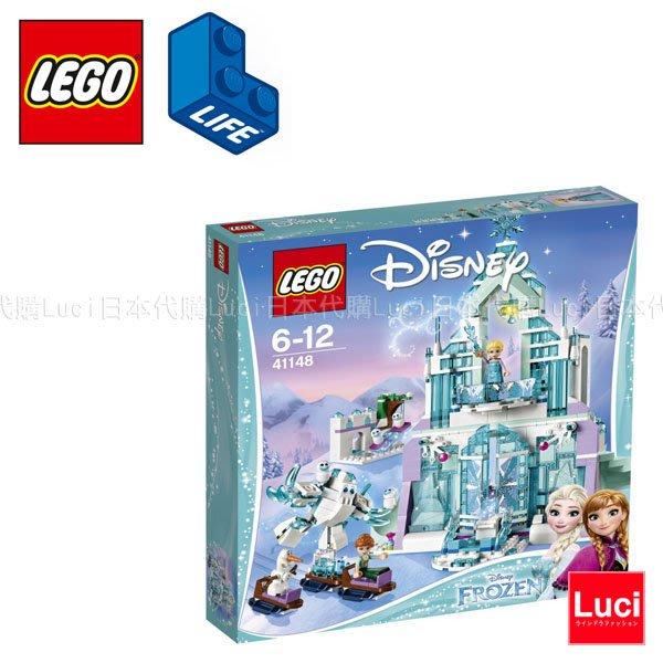 LEGO 樂高 41148 冰雪奇緣 雪の女王系列 艾莎的魔幻冰雪宮殿 Disney 積木 LUCI日本空運