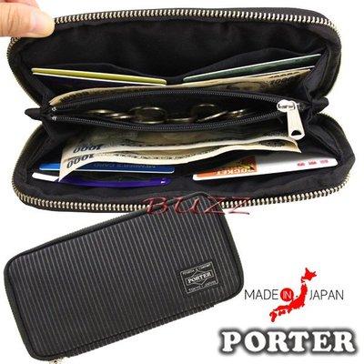 巴斯 日標PORTER屋-預購 PORTER DRAWING 長夾 650-09780