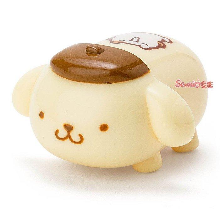《東京家族》現貨日本三麗鷗 布丁狗 可愛公仔造型立體護唇膏柚子香味