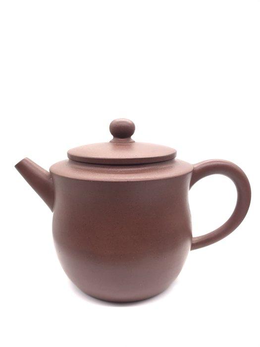 早期紅紫砂老茶壺