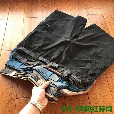 DS_08網紅時尚重磅猛貨科技面料 男士戶外休閒輕量化快干彈力短褲五分褲沙灘褲