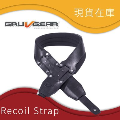 大鼻子樂器 GruvGear 減壓肩帶 SoloStrap Recoil系列 2.5吋
